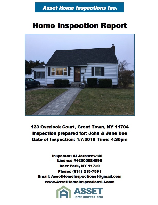 Home Inspections Deer Park, Huntington, Commack, NY